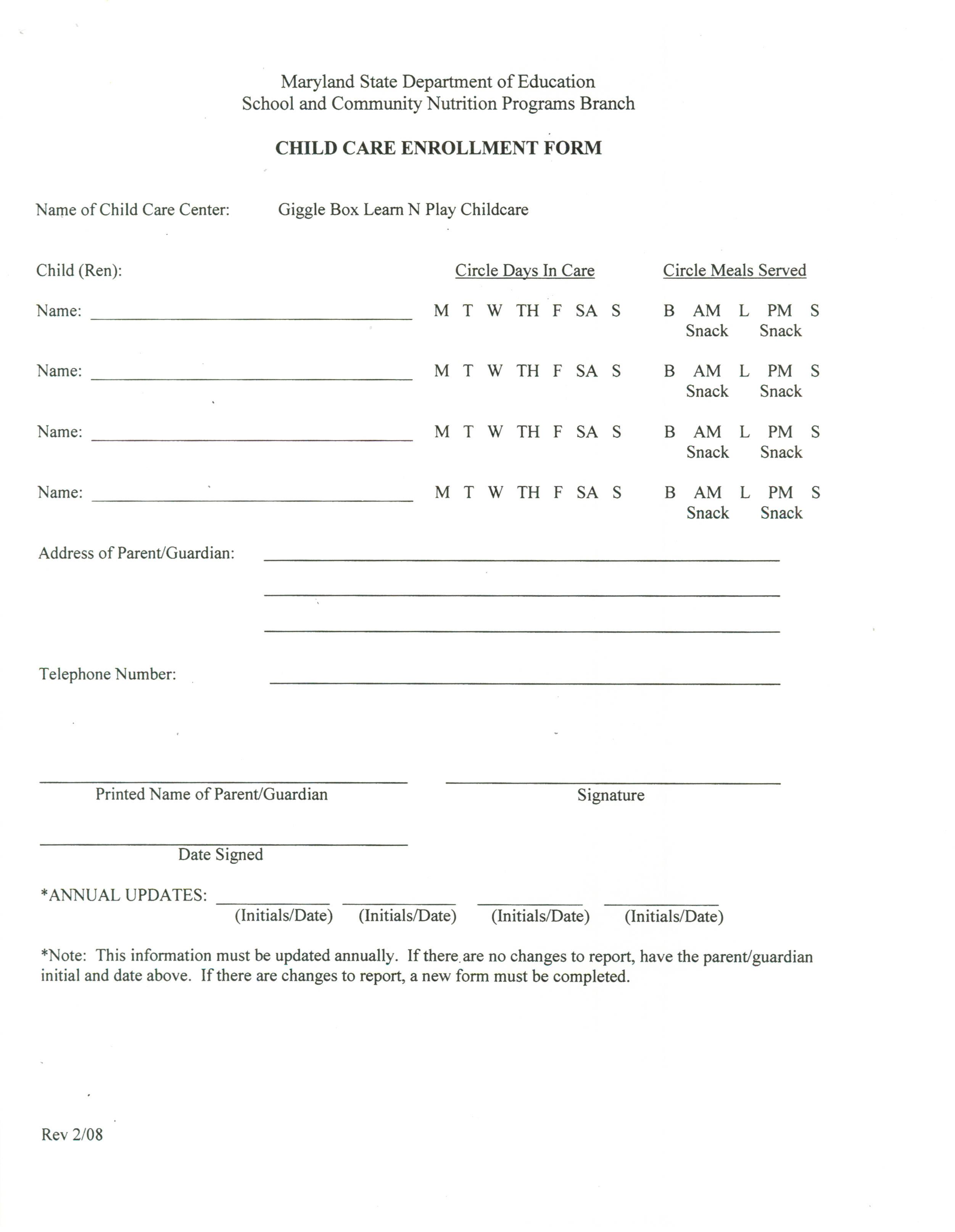 Enrollment-Forms